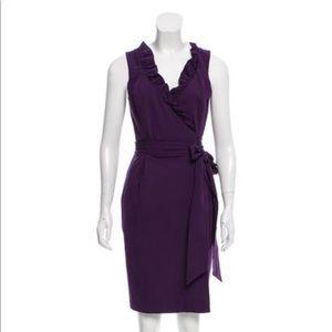 Diane Von Furstenberg Hampton Wrap Dress Sz 4
